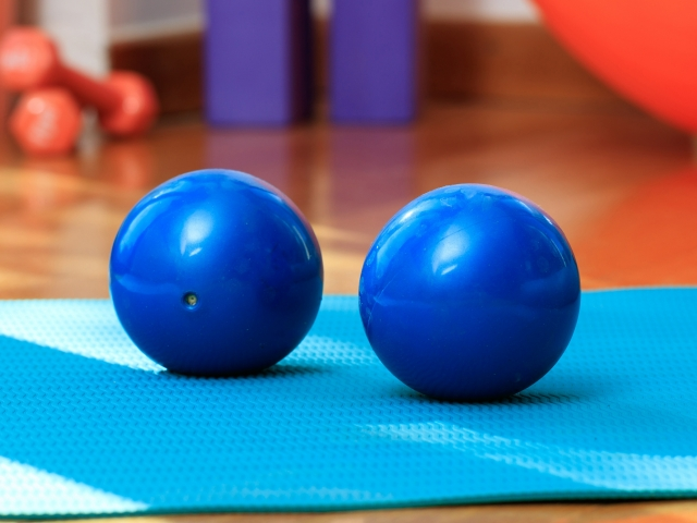 Weighted Pilates Balls